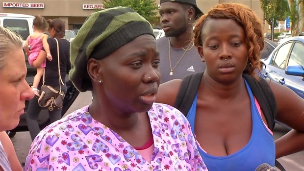 Suspect's Sister: 'I Told The Police Please Don't Shoot Him'