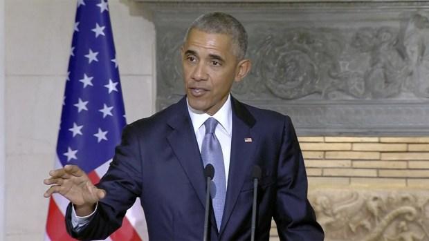 [NATL] Obama Talks Economic Inequality in Greece