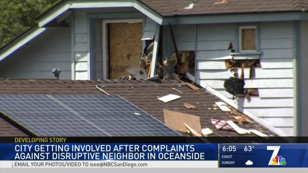 Oceanside Neighbors Fed Up With Man's Trashed Lot