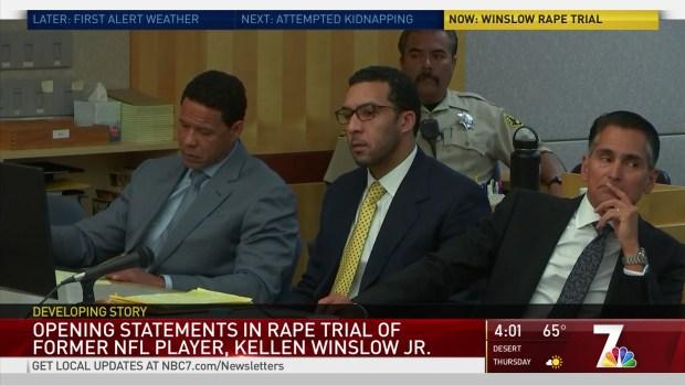 Opening Statements Begin in Winslow Rape Trial