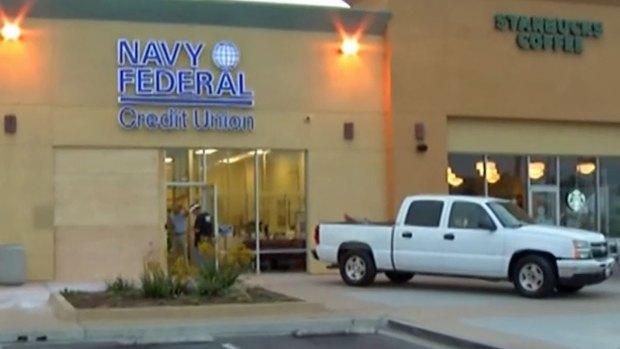 Car Crashes into Otay Mesa Bank