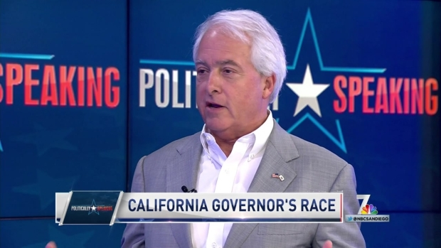 Politically Speaking: John Cox on Underdog Run for Governor