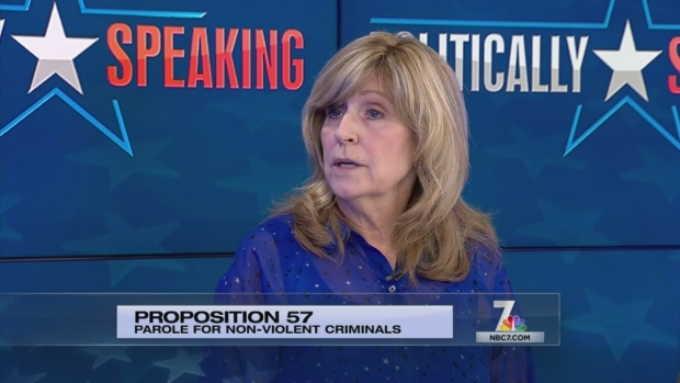 Politicially Speaking on Prop 57 - Part II