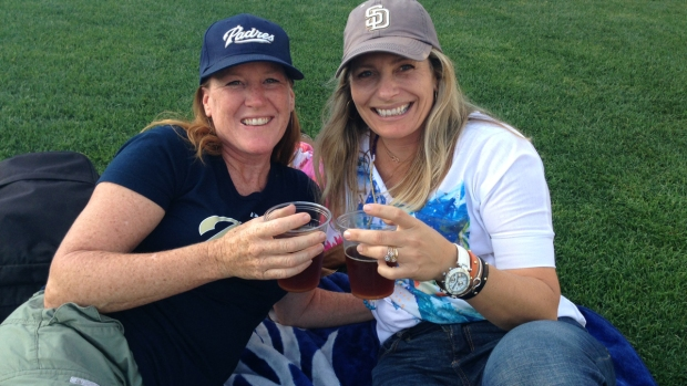 [G] Padres Fans Party at Summer BeerFest