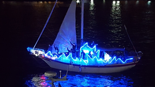 San Diego Bay Lights Up for the Holidays