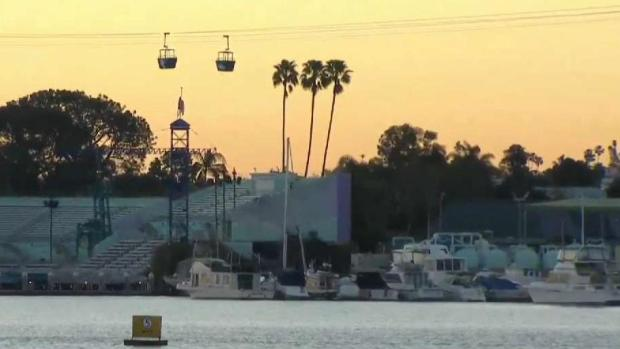 16 Passengers Rescued From SeaWorld Ride Over Mission Bay