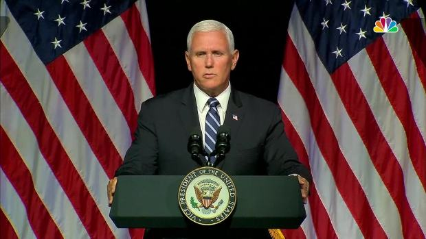 [NATL] Pence Outlines New 'Space Force' Military Branch