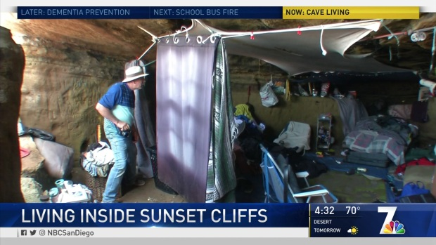 [DGO] People Turn Sunset Cliffs Cave Into Illegal Home