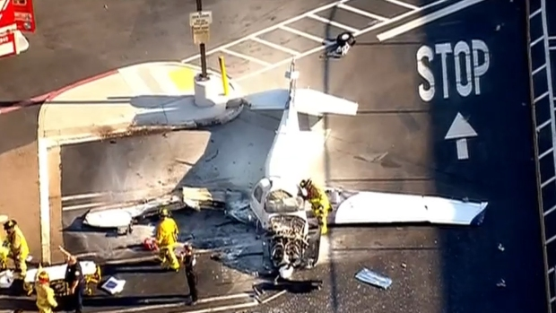 Small Plane Crashes in Kearny Mesa