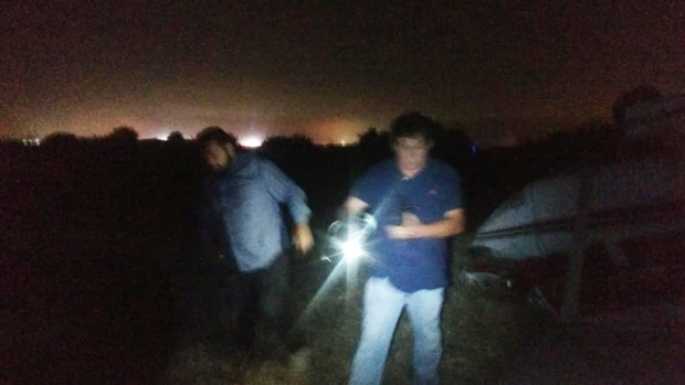 Images from Brown Field Plane Crash