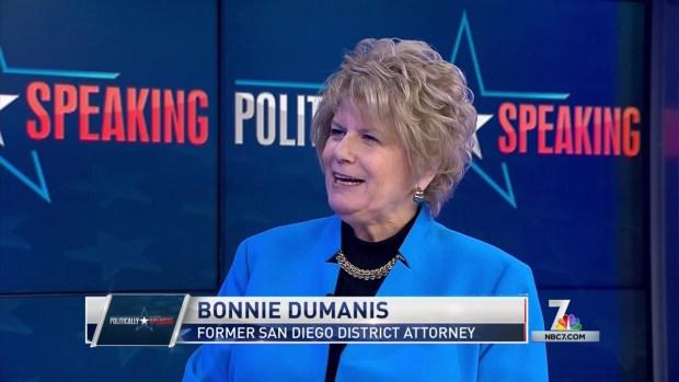 Politically Speaking: Bonnie Dumanis on Trump's Putin Controversy