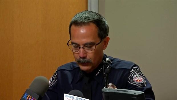 El Cajon Police Chief Describes Events of Fatal Shooting