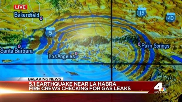 [LA] Caltech Analyzes Data from La Habra 5.1 Quake