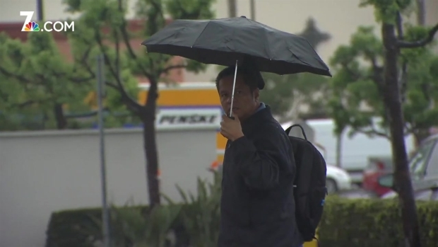 [STRINGER] Much-Needed Downpour Drenches San Diego