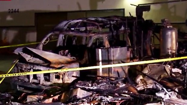 [DGO] RV Owner Burned in Fire