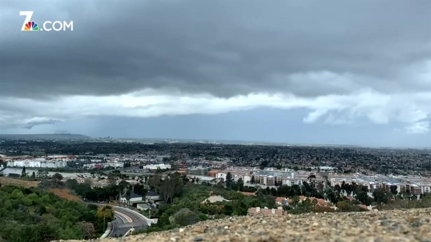 Time Lapse of San Diego's First Spring Storm