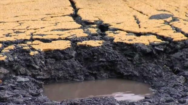 [DGO] Rain Soaks County, Creates Pothole Problems