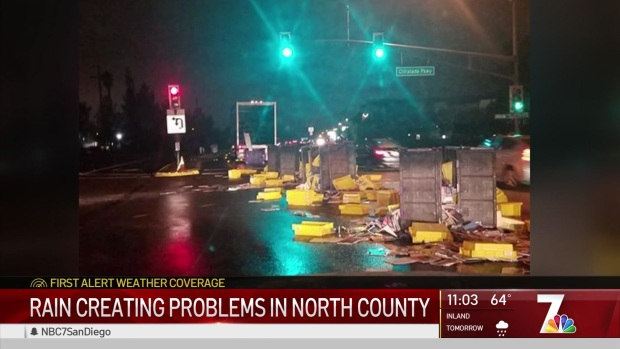 [DGO] Rain Wreaks Havoc Across North County