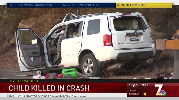 SUV Crashes Into Semi-Truck on Old Highway 395 Killing Teen
