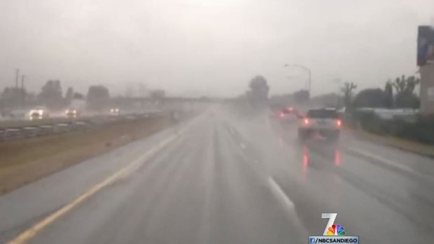 [DGO] San Diegans Tolerate Rainy Monday
