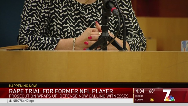 Rape Trial for Former NFL Player
