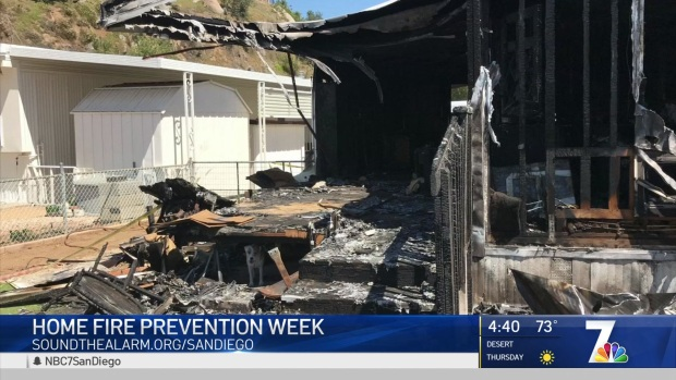 Red Cross Prepares Residents for Home Fire Prevention Week
