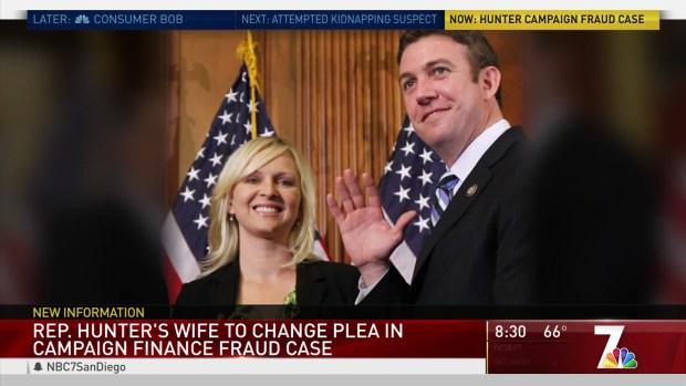 [DGO] Duncan Hunter's Wife Has Change of Plea Hearing on Docket