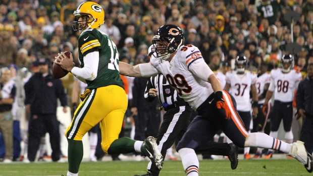 Game Action: Bears Versus Packers