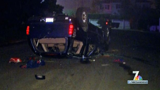 [DGO] Packed SUV Was Drifting Prior to Crash: SDPD