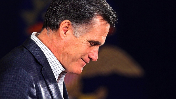 Romney Losing Love in California