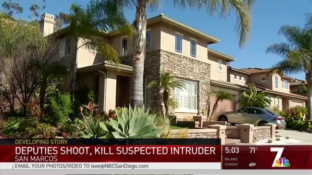 Deputies Shoot, Kill Suspected Intruder at San Marcos Home