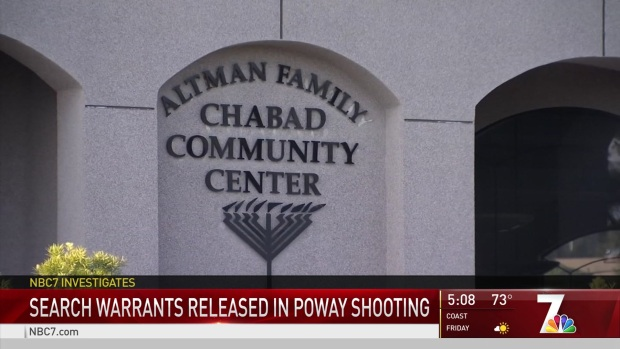 [DGO] Nearly 400 Pages of Court Records of the Poway Synagogue Shooting Made Public
