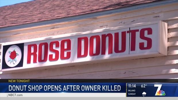 Linda Vista's Rose Donuts Celebrates Grand Reopening