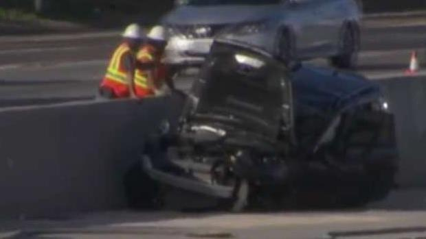Crash Involving Semi, 4 Cars Closes SB I-15 Lanes at Carmel