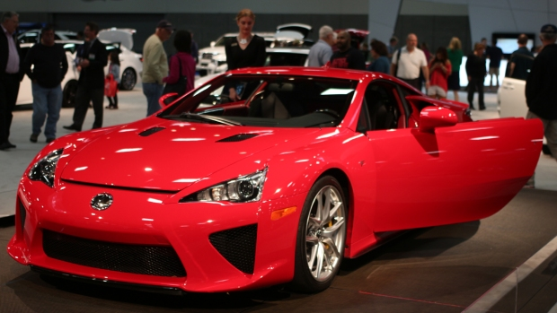 The 2014 San Diego International Auto Show