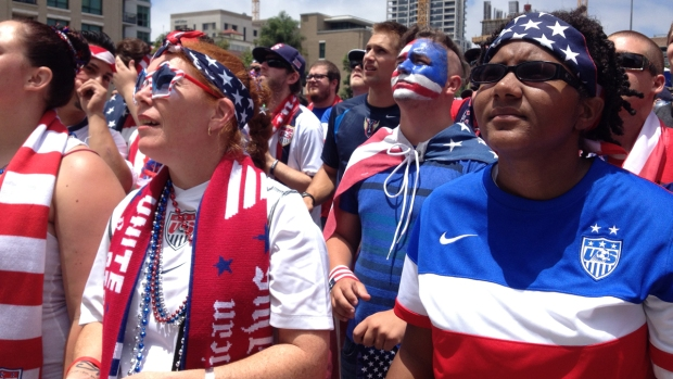 [G] Local Soccer Fans Root for USA