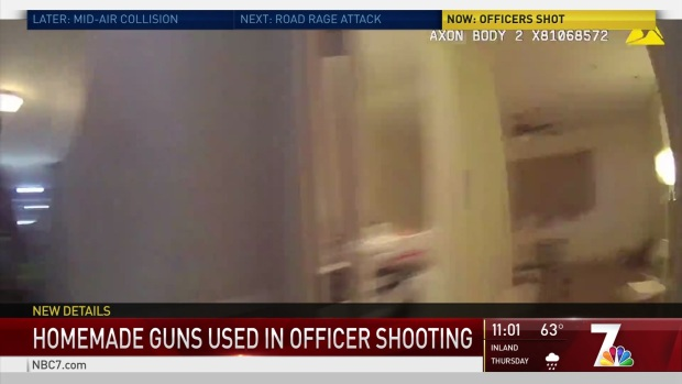WARNING GRAPHIC VIDEO: Suspect in OIS Had 'Ghost Guns'