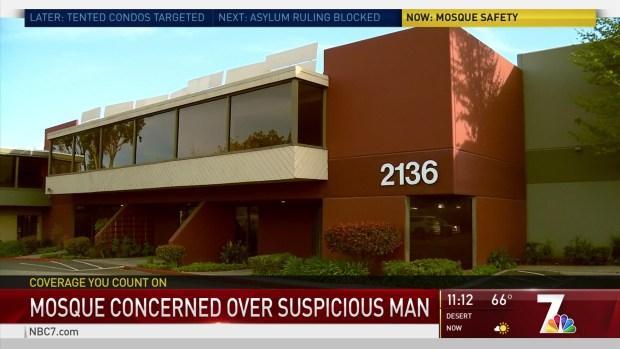 SDSO Investigating Suspicious Encounter at Vista Islamic Center