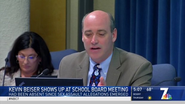 [DGO] SDUSD Trustee Kevin Beiser Attends First Meeting Since Misconduct Allegations