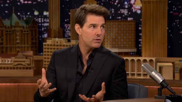 [NATL] Tom Cruise Talks to Fallon About 'Mummy' on 'Tonight Show'