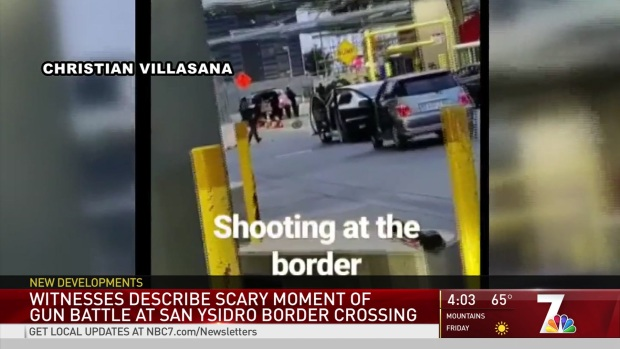 [DGO] Mother Ducked for Cover as CBP, Suspect Exchanged Fire