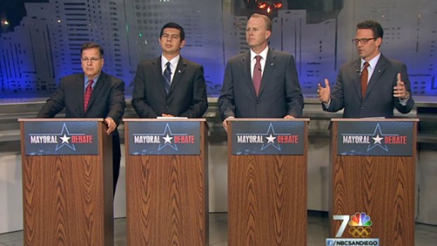 [DGO] NBC 7 Mayoral Debate November 2013