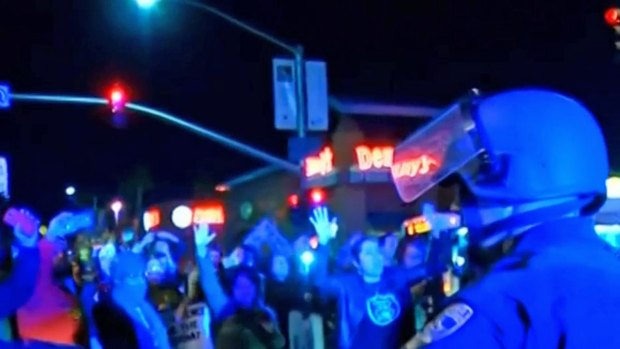 Arrests in San Diego Protests Tied to Ferguson Decision