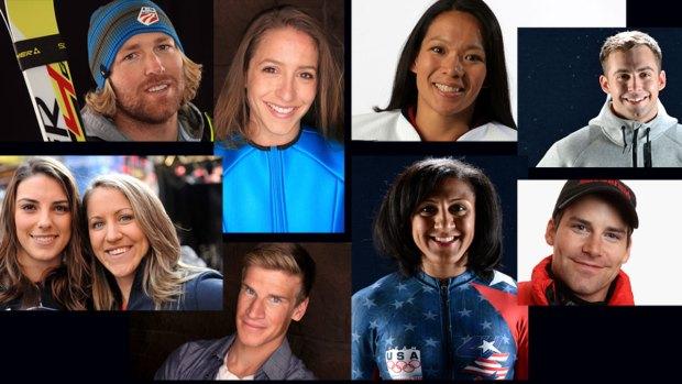 San Diego to Sochi: U.S. Olympians