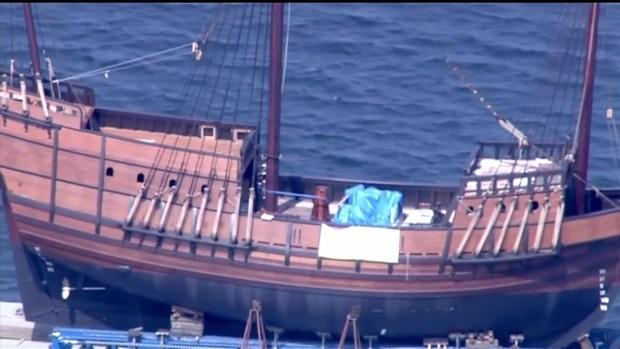 [DGO] San Salvador Replica Ship Moved