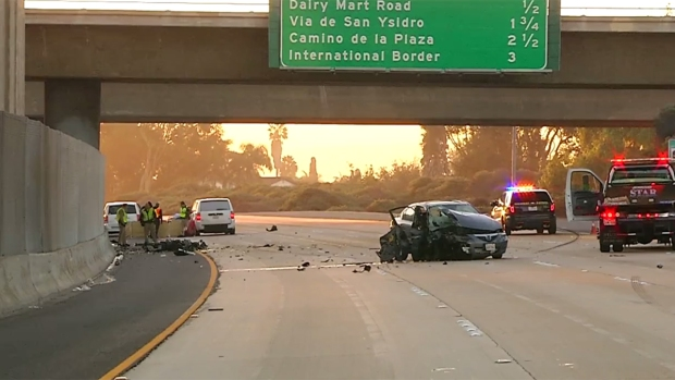 [DGO] Wrong-Way Driver Fatally Struck Motorcyclist on I-5 in San Ysidro