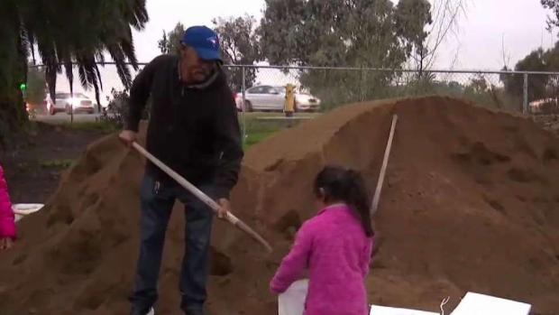 San Diegans Bracing for Big Storm