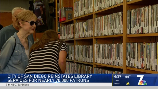 City Forgives 130K Public Library Fines