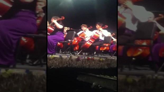 Sana Moezzi Playing the Violin 2