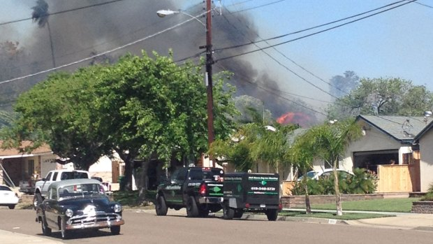 [DGO] Homes Evacuated in Santee Fire